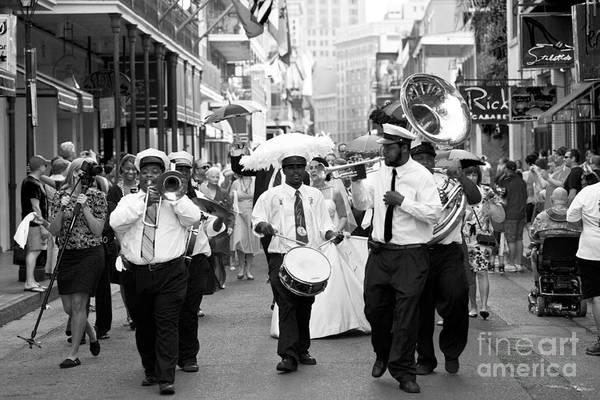 Photograph - Jazz Wedding by Leslie Leda