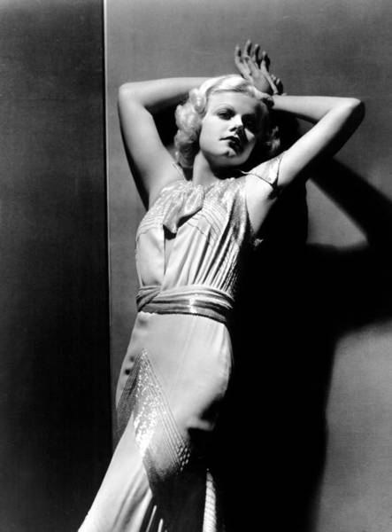 Jean Harlow 1930s Photograph By Everett