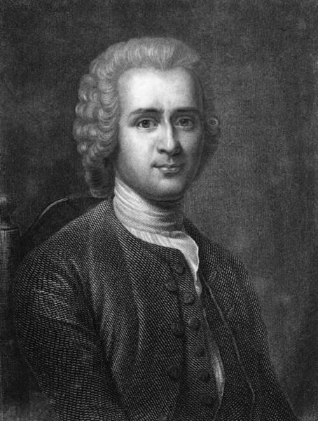 Francois Marie Arouet Photograph - Jean Rousseau, Genevan Philosopher by Middle Temple Library
