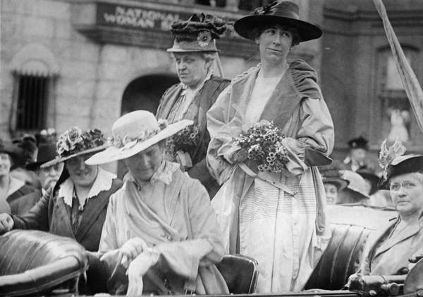Member Of Congress Wall Art - Photograph - Jeannette Rankin 1880-1973, First Woman by Everett