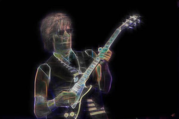 Digital Art - Jeff Beck by Kenneth Armand Johnson