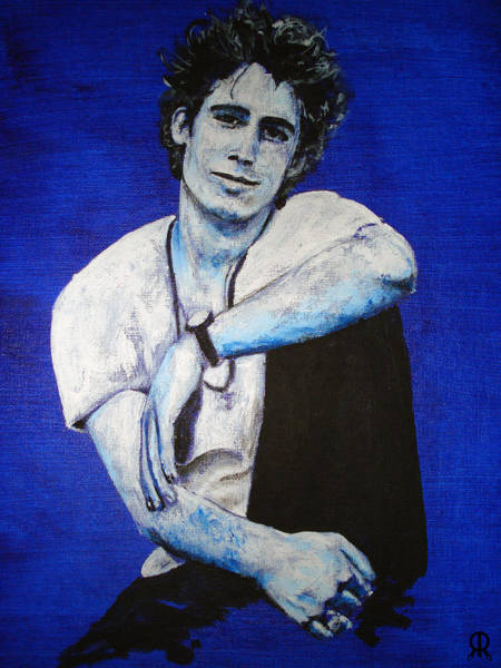 Jeff Buckley Wall Art - Painting - Jeff Buckley by Luke Morrison