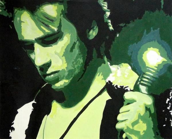 Jeff Buckley Wall Art - Painting - Jeff Buckley by Sara Bokhari