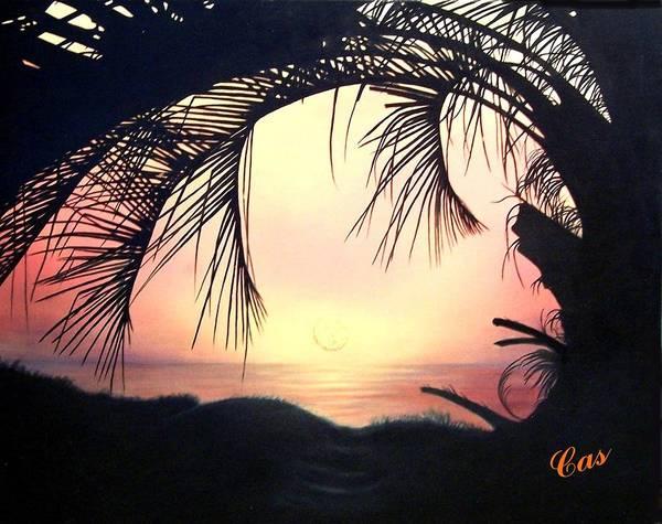 Jekyll Island Painting - Jekyll Island Sunrise by Karen Casciani