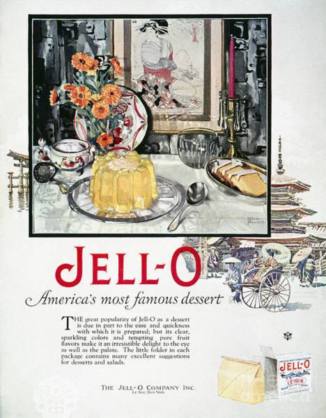 Wall Art - Photograph - Jell-o Advertisement, 1926 by Granger