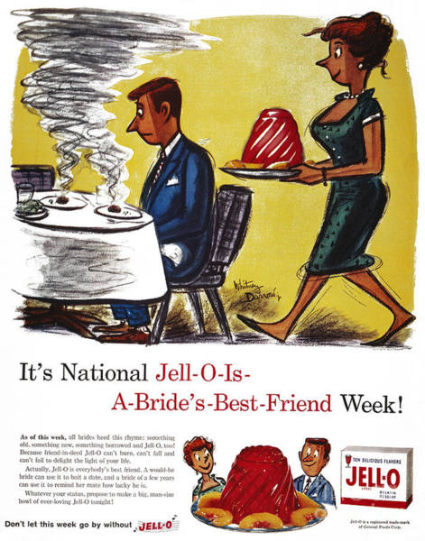 Wall Art - Photograph - Jell-o Advertisement, 1959 by Granger