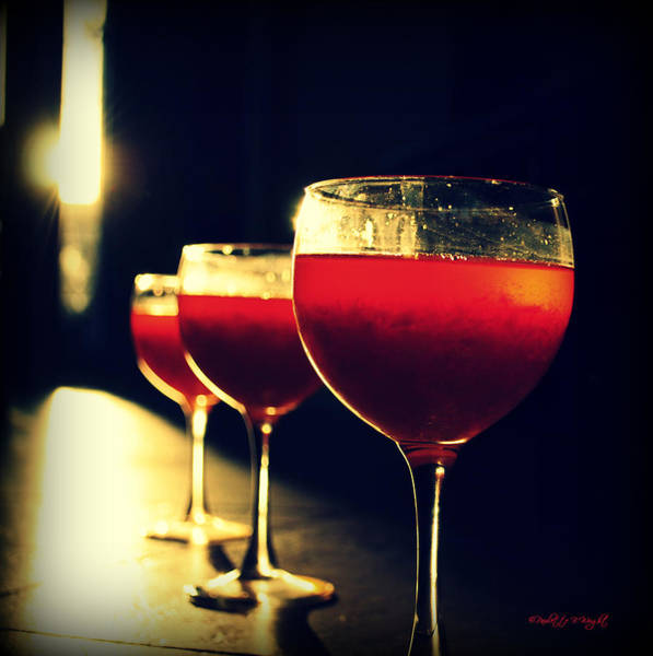 Photograph - Jello In My Wine Glass by Paulette B Wright