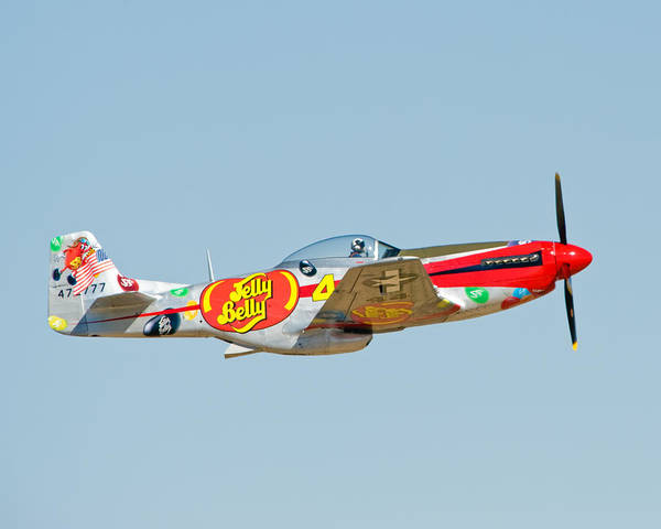 Jelly Belly Photograph - Jelly Belly P51 by Tom Dowd
