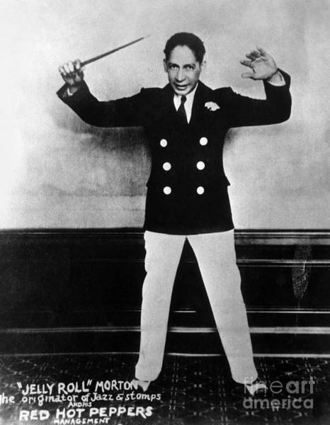 Photograph - Jelly Roll Morton. For Licensing Requests Visit Granger.com by Granger