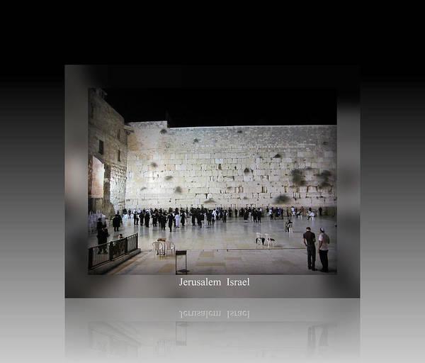 Photograph - Jerusalem Israel Western Wall II by John Shiron
