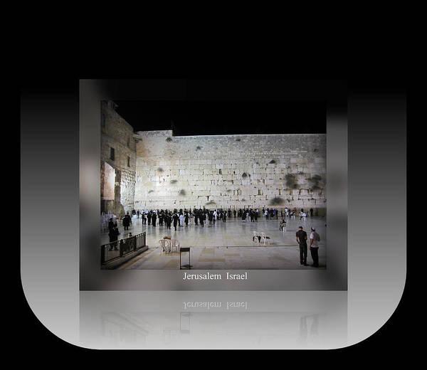Photograph - Jerusalem Israel Western Wall IIi by John Shiron
