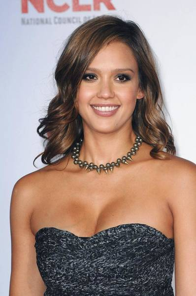 2010s Fashion Wall Art - Photograph - Jessica Alba At Arrivals For 2011 Nclr by Everett