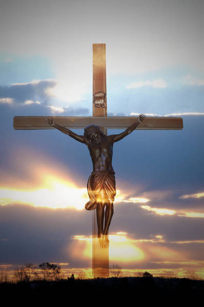 Crucifiction Wall Art - Photograph - Jesus by Bill Cannon