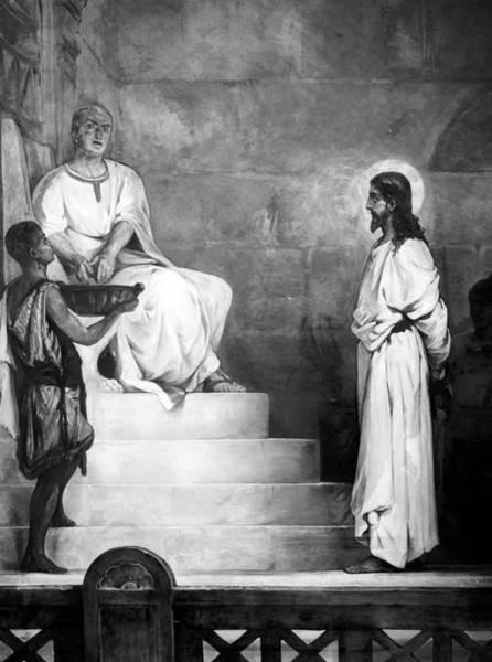 Pontius Pilate Wall Art - Photograph - Jesus Christ, Title Pontius Pilate by Everett