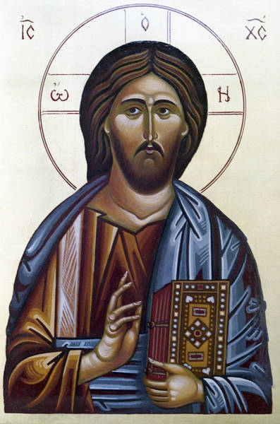 Ortodox Wall Art - Painting - Jesus Chrrist by Anton Dimitrov