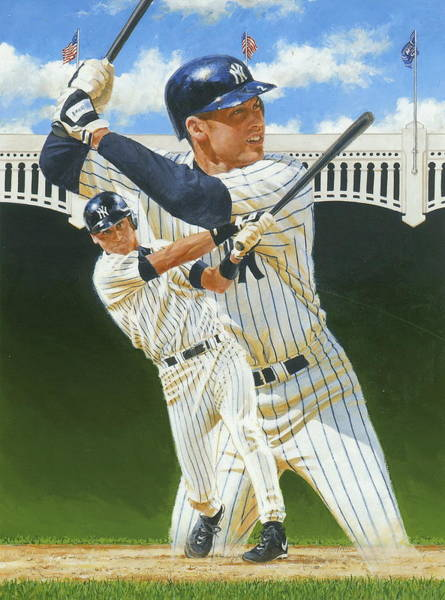 Painting - Jeter -this Is For Limited Use by Cliff Spohn
