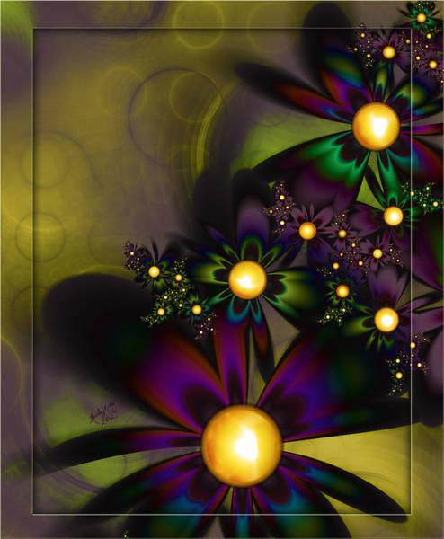 Digital Art - Jewel Tones by Karla White