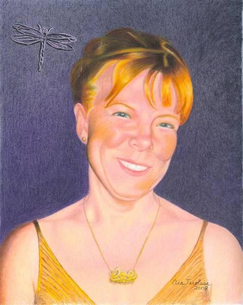 Drawing - Jill Hammond by Ana Tirolese