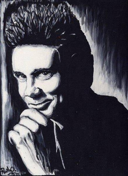 Jim Carrey Painting - Jim Carrey by Ruth Oosterman