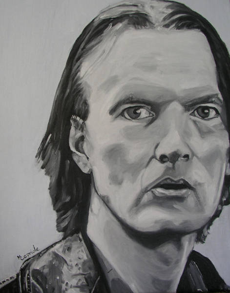 Painting - Jim Carroll by Mary Capriole