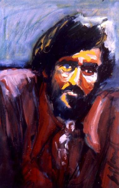 Painting - Jim Mitchel by Les Leffingwell