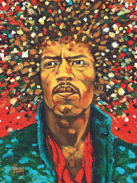 Jimi 1 Art Print