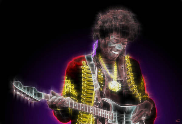 Psychedelia Digital Art - Purple Haze by Kenneth Armand Johnson