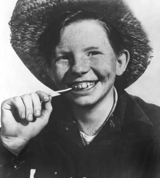 Boyd Photograph - Jimmy Boyd, Portrait Ca. 1954 by Everett