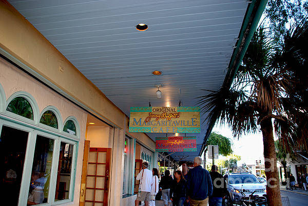 Photograph - Jimmy Buffet's Margaritaville Key West by Susanne Van Hulst