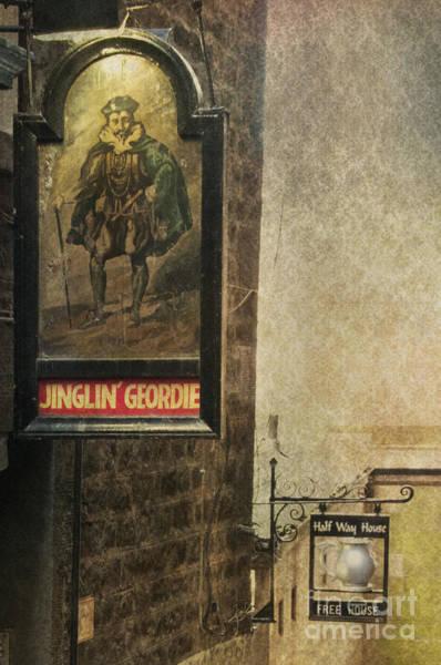 Edinburgh Photograph - Jinglin' Geordie by Marion Galt