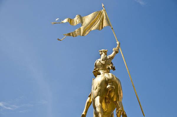 Wall Art - Photograph - Joan Of Arc Statue IIi by Ray Laskowitz