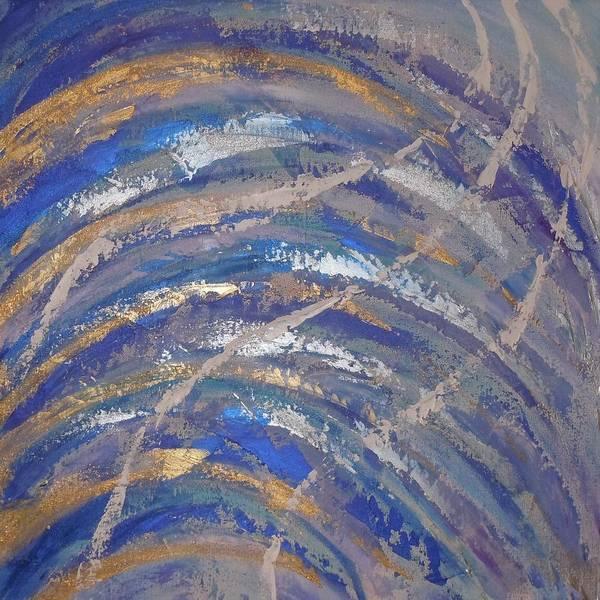 Painting - Job 37 1 To 5 by Deborah Brown Maher