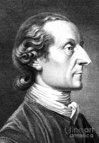 1741 Photograph - Johann Kaspar Lavater, Swiss by Science Source