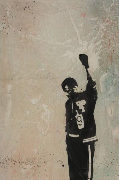 Streetart Mixed Media - John Carlos by Dustin Spagnola