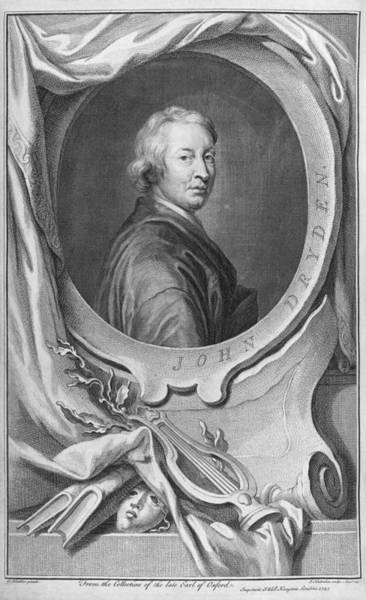 John Dryden Wall Art - Photograph - John Dryden, English Poet And Playwright by Middle Temple Library