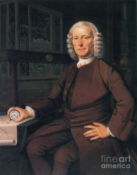 Test Of Time Photograph - John Harrison, English Inventor by Photo Researchers