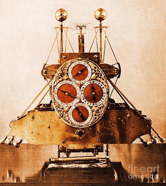 Wall Art - Photograph - John Harrisons First Sea Clock by Photo Researchers