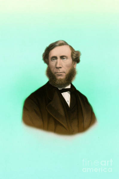 Diamagnetism Wall Art - Photograph - John Tyndall, Irish Physicist by Science Source