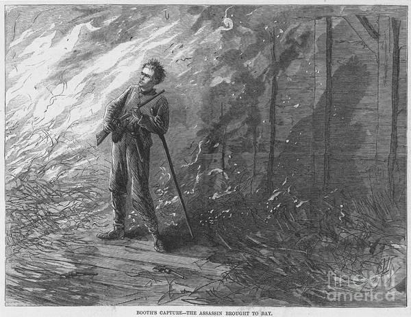 Photograph - John W. Booth (1838-1865) by Granger