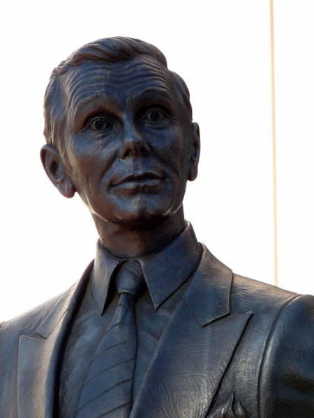 Photograph - Johnny Carson by Jeff Lowe