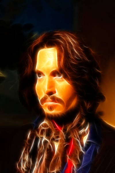 Wall Art - Photograph - Johnny Depp -  Pirates Of The Caribbean by Lee Dos Santos