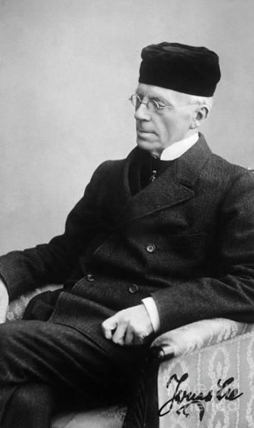 Photograph - Jonas Lie (1833-1909) by Granger