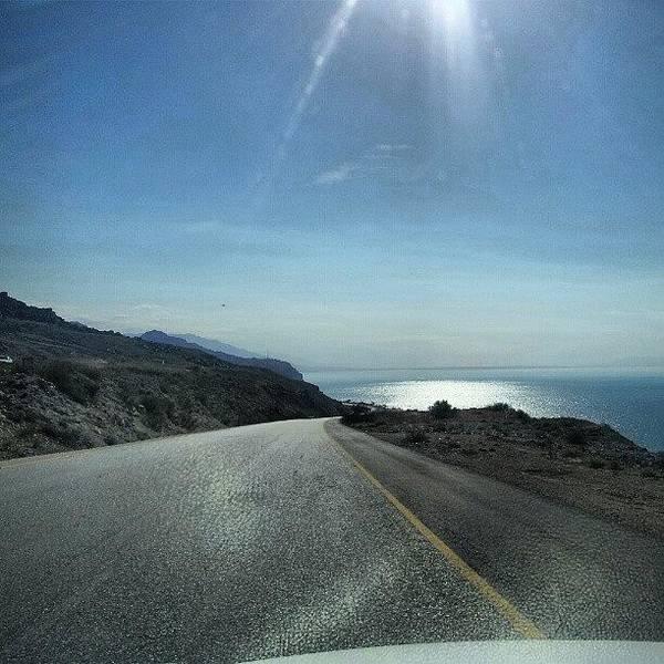 Sea Photograph - Jordan - Deadsea The Lowest Point In by Abdelrahman Alawwad