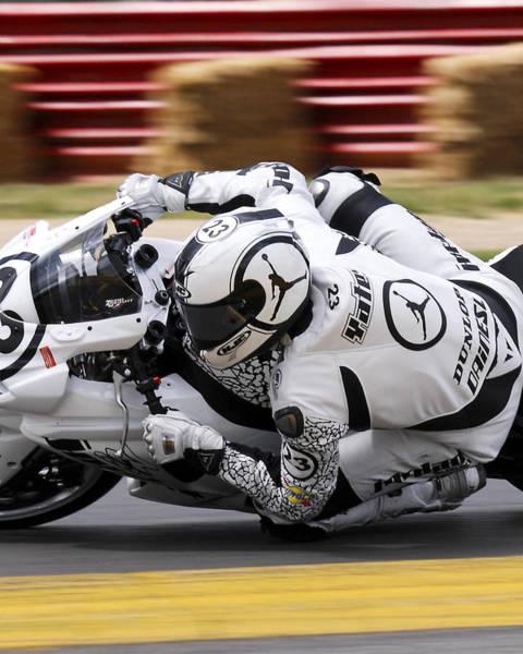 Photograph - Jordan Racing Yates by Rick Hartigan