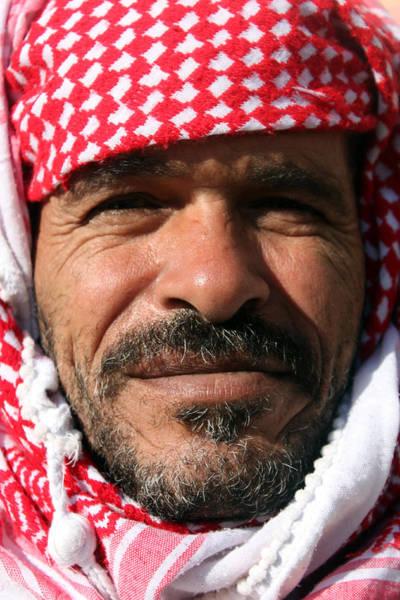 Manger Photograph - Jordanian Man by Munir Alawi