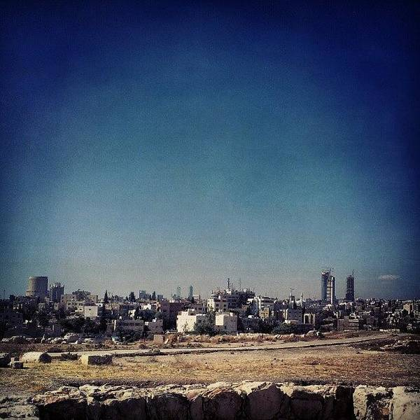 Home Wall Art - Photograph - Jordan's Capital | Amman What A by Abdelrahman Alawwad