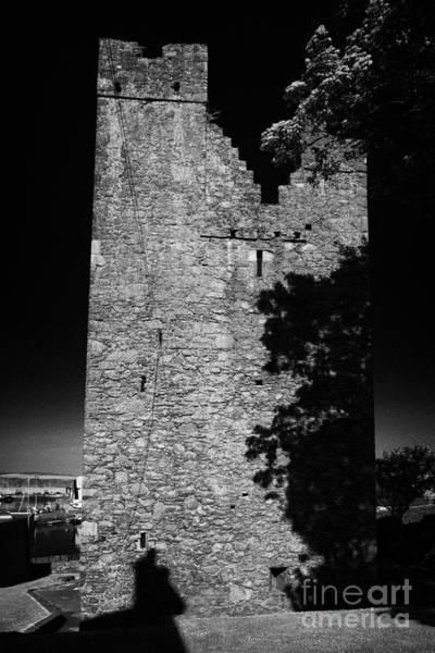 Wall Art - Photograph - Jordans Castle Tower House Ardglass County Down Northern Ireland by Joe Fox