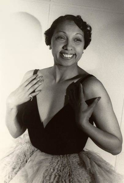 Josephine Baker Photograph - Josephine Baker 1906-1975, At Age 42 by Everett