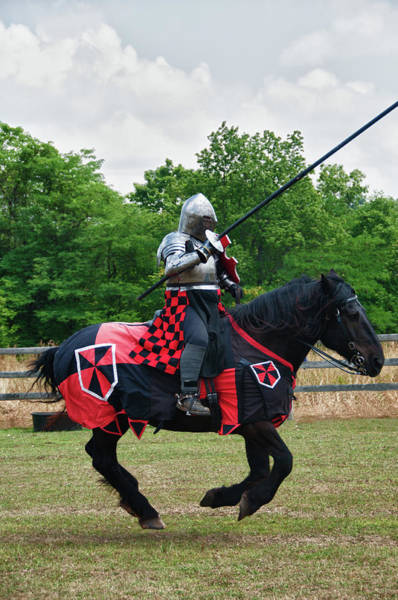 Photograph - Joust 7516 by Guy Whiteley