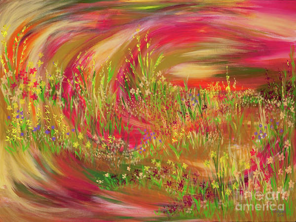 Joy Art Print by Lisa Bell